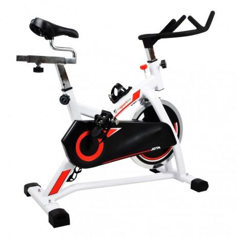 Bicicleta indoor cycling inSPORTline Jota/alb