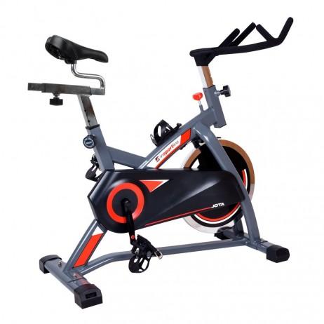 Bicicleta indoor cycling inSPORTline Jota/argintiu