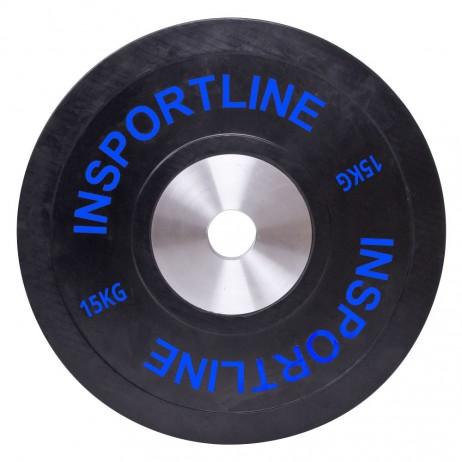Greutate cauciucata inSPORTline Bumper Plate 15kg