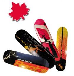 Placa skateboard din Artar Canadian dublu conkav