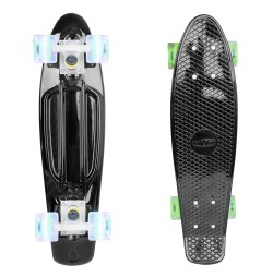 Penny board Worker Mirra 200 22'' cu roti iluminate