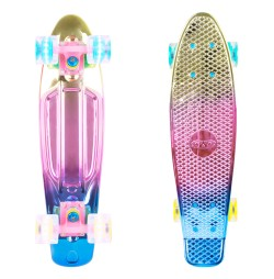 Penny board Worker Mirra 500 22'' cu roti iluminate