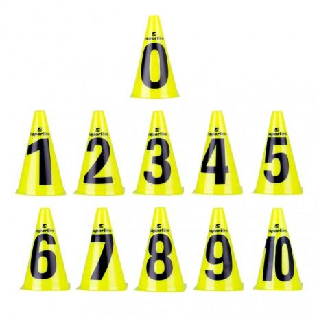 Conuri antrenament inSPORTline Numeric 23 cm