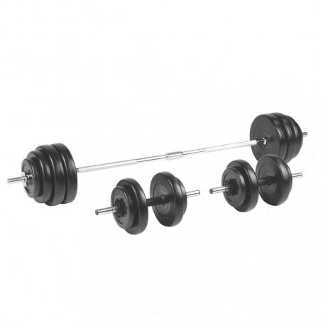 Set gantere vinil inSPORTline BS208 3-50 kg