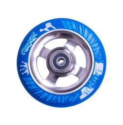 Roata trotineta FOX PRO Raw 110 mm- albastru-titan
