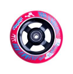 Roata trotineta FOX PRO Raw 110 mm- rosu-negru