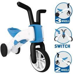 Tricicleta 2in1 Chillafish Bunzi-albastra