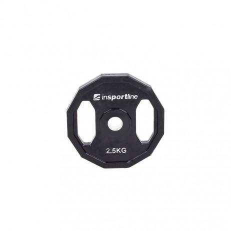 Greutate cauciucata 2.5kg/31mm inSPORTline Ruberton