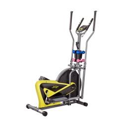 Bicicleta eliptica inSPORTline Airgym