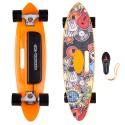 WORKER Longboard electric Smuthrider-negru/oranj