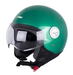 W-TEC Casca scuter FS-701G Retro Green