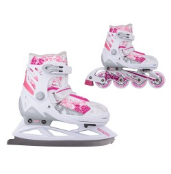 Patine reglabile 2in1 WORKER Pinkola
