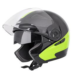 Casca Moto W-TEC Neikko Negru / Verde