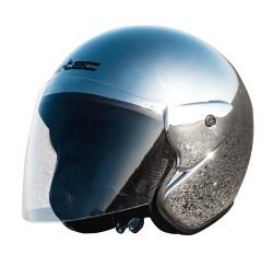 Casca Moto W-TEC AP-74 Argintiu Cromat
