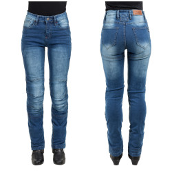 Pantaloni Moto Femei Jeans W-TEC Lustipa