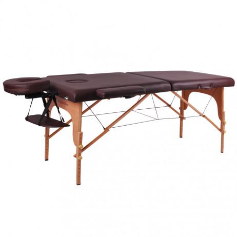 Masă din lemn pentru masaj inSPORTline Taisage- din 2 bucăți