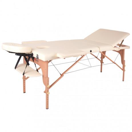 Masă de lemn pentru masaj inSPORTline Japane - din 3 bucati