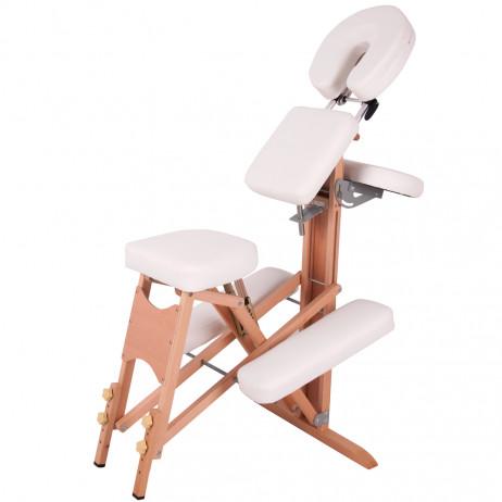 Scaun din lemn pentru masaj inSPORTline Massy