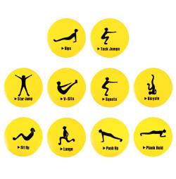 Marcaje de Exercitii inSPORTline Agily