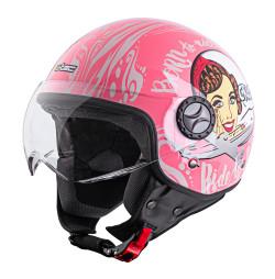 Casca Scuter W-TEC FS-701PF Pink Life