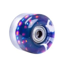 Roata Iluminata pentru Skateboard PU 54*36mm cu Rulmenti ABEC 5