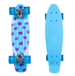 Penny Board Fish Print DOTS 22""