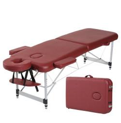Masă de masaj Spartan Bett din aluminiu