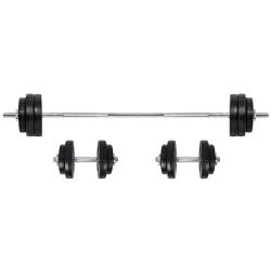 Set Haltera si Gantere inSPORTline BS08 3-50kg