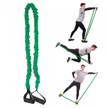 Coarda elastica inSPORTline Morpo Mediu - 130 cm