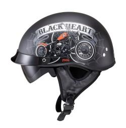 Casca Moto W-TEC Black Heart Rednut
