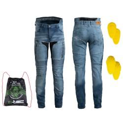Pantaloni Moto Barbati Jeans W-TEC Grandus EVO