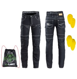 Pantaloni Moto Barbati Jeans W-TEC Aredator EVO