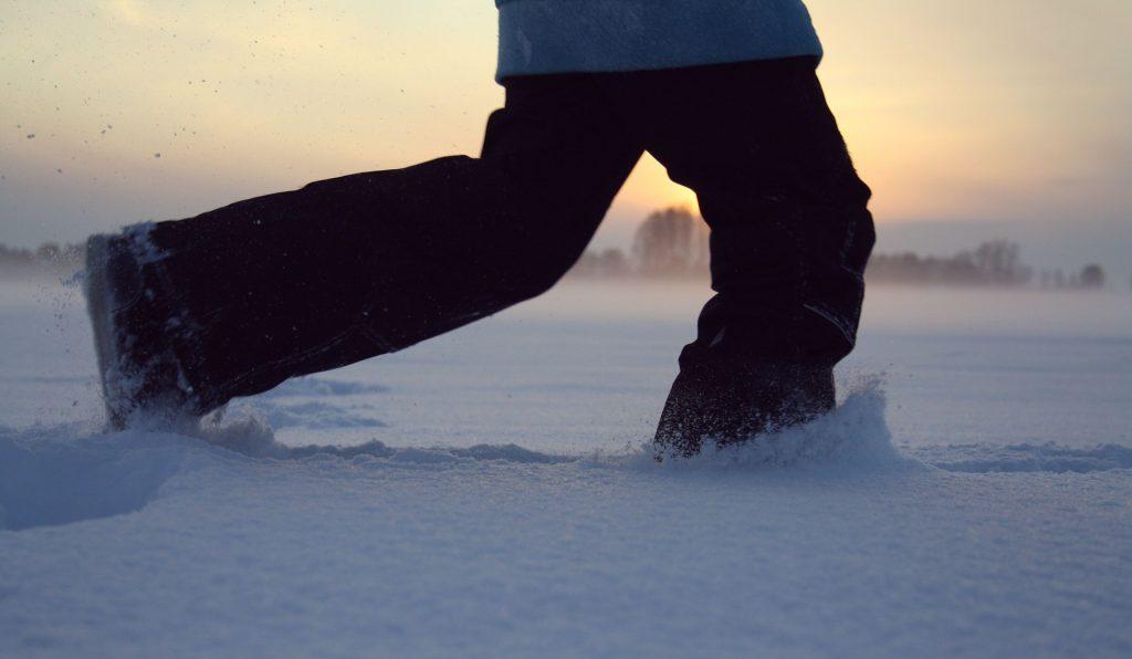 cum sa alergi iarna