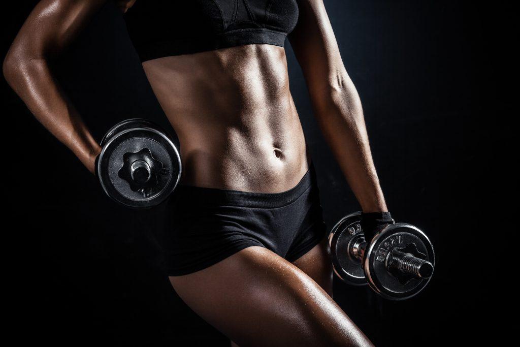 greutati fitness femei